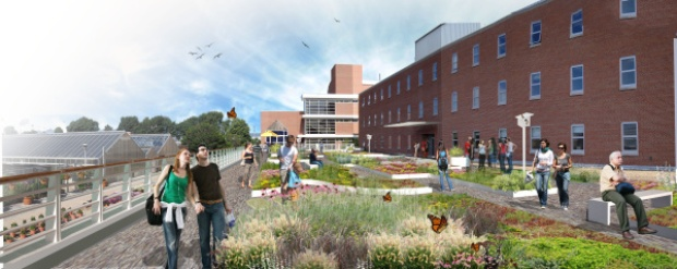 Howlett Green Roof In The Columbus Dispatch Hcs