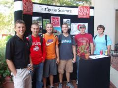 Turfgrass Science at the 2012 Welcome Back Cookout