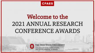 2021 CFAES Celebration of Research